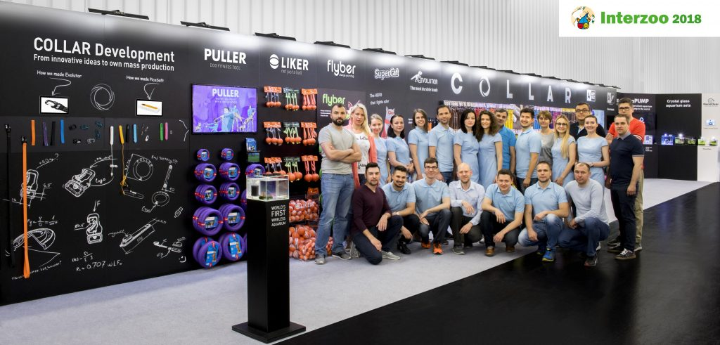 COLLAR on Interzoo - 2018 - COLLAR pet products